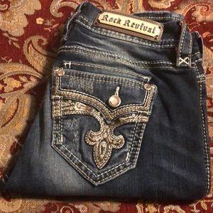 Rock Revival skinny jeans, size 27